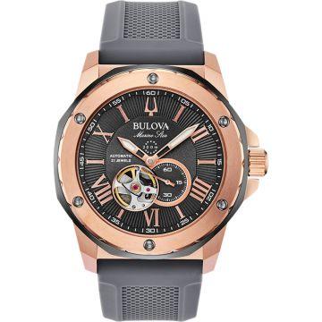 Bulova Marine Star Automatic Stainless Steel 45mm Mens Watch