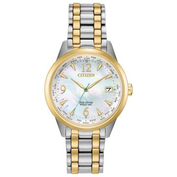 Citizen Women's Eco Drive WR50 Stainless Steel Watch