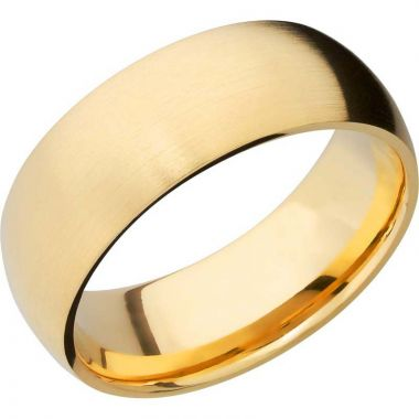 Lashbrook 14k Yellow Gold 8mm Men's Wedding Band