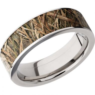 Lashbrook Titanium 7mm Men's Wedding Band