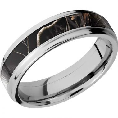 Lashbrook Cobalt Chrome 6mm Men's Wedding Band